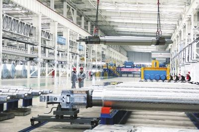 德龙金属一期80万吨不锈棒材项目预计九月底试生产