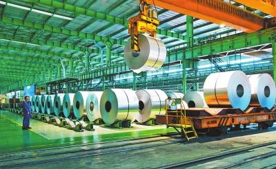 酒钢不锈1、2月份钢产量、材产量均超额完成计划