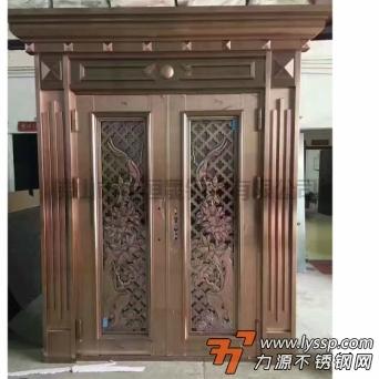 不銹鋼做出來的成品門, 佛山市佳恒晟鋼鐵有限公司